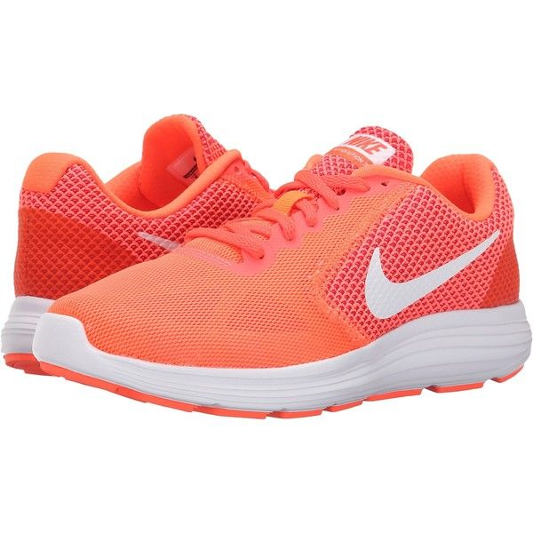 Womens Shoes Nike Revolution 3 Hyper Orange/Atomic Pink/Bright Crimson/White