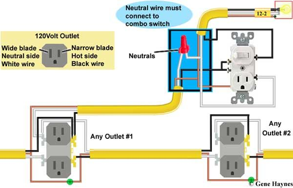 outlet switch combo wiring diagram ford steering parts pin by gene haynes on diy water heater pinterest wire how to combination http waterheatertimer org