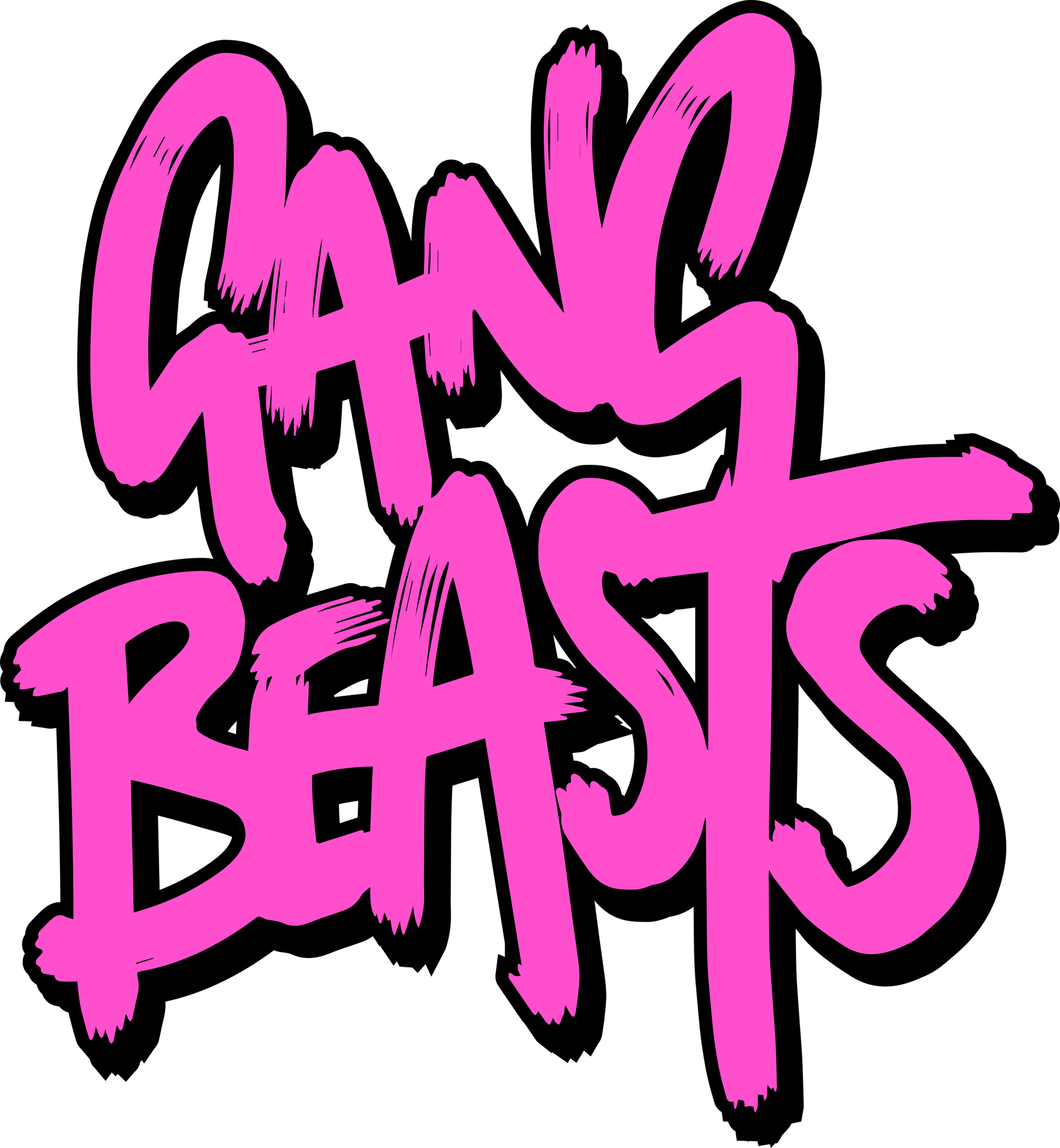 Double Fine Aiming For Q1 Release Of Gang Beasts Playstation4 Ps4 Sony Videogames Playstation Gamer Games Gaming Gang Beasts Gang Beast Logo