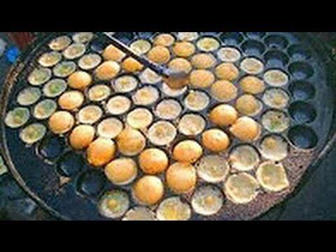 شاهد كيف طبخ البيض في شوارع الهند روعه