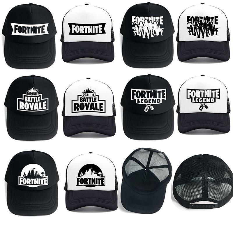 6ae8b7de44851 Summer  Fortnite Baseball Net Mesh Cap Hat Hot New Game Fans Cool Baby boys  girls