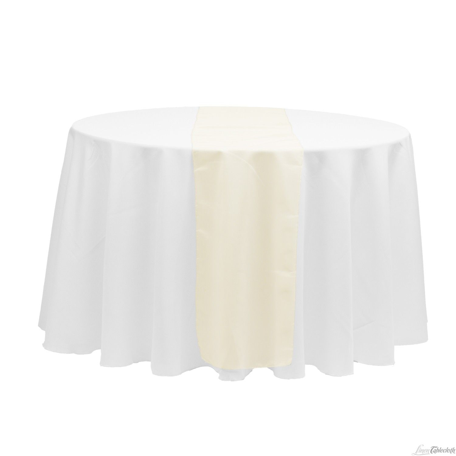 14 X 108 In Organza Table Runner Ivory Green Table Runner Table Runners Linen Table Runner