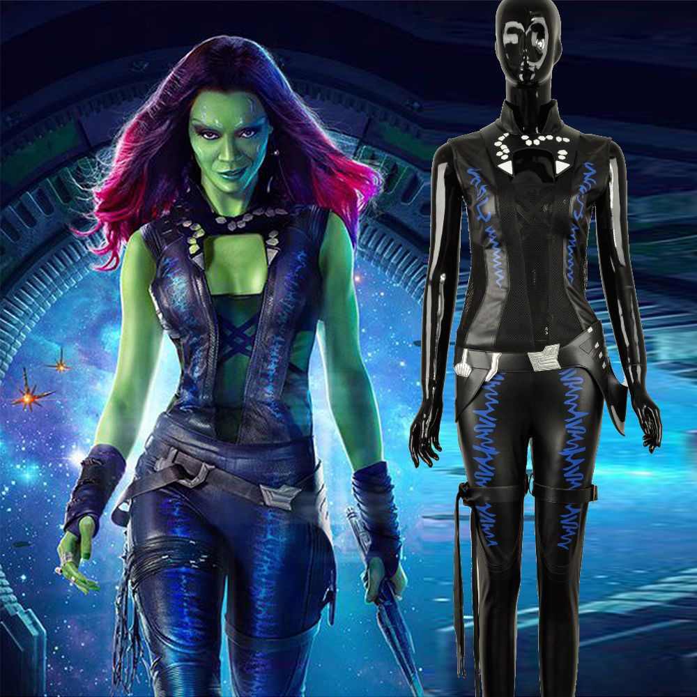 Guardians of the Galaxy Gamora Black Outfit Cosplay ...