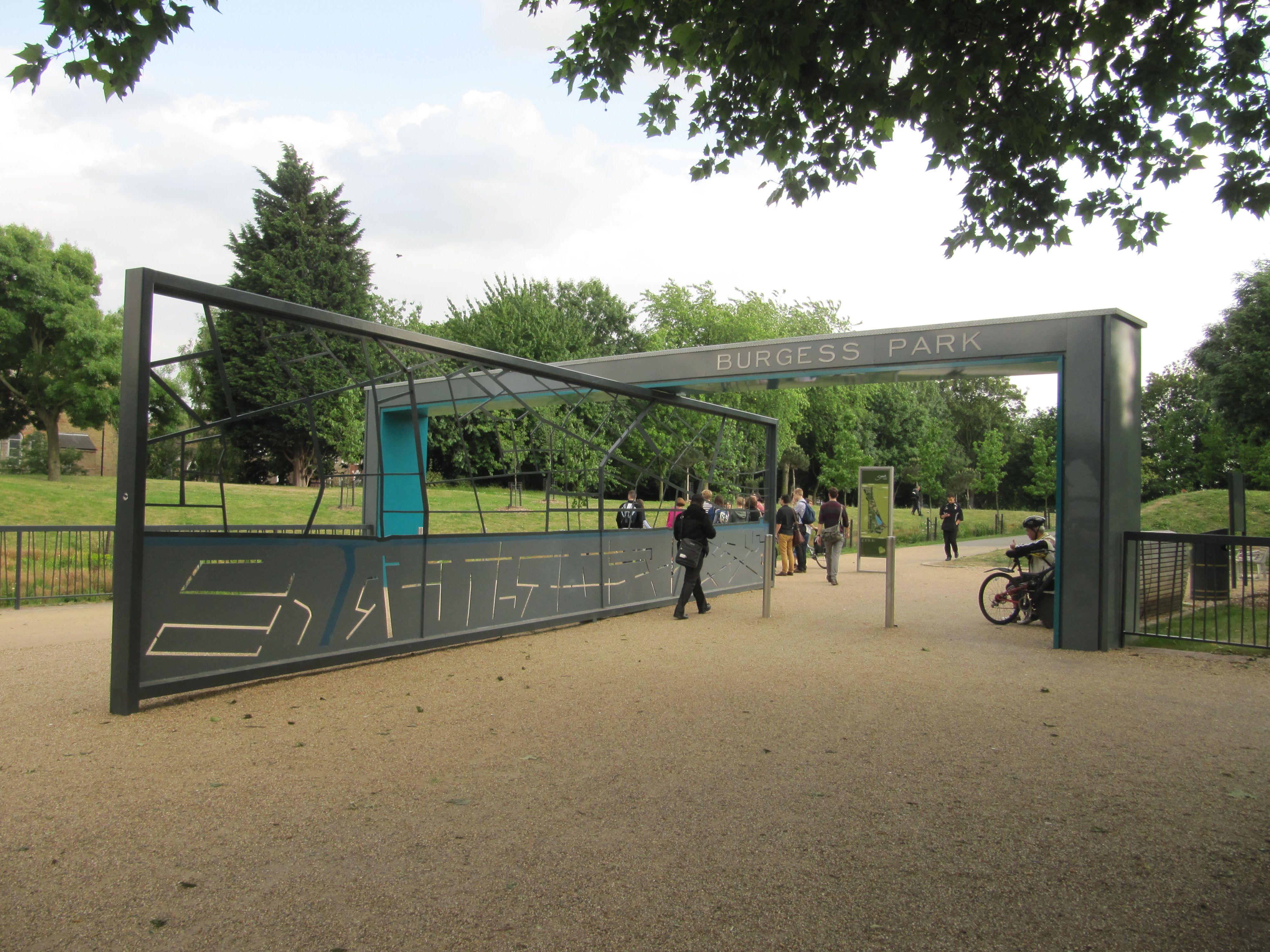 Final Major Project 1 Park Landscape Entrance Entrance Gates Design