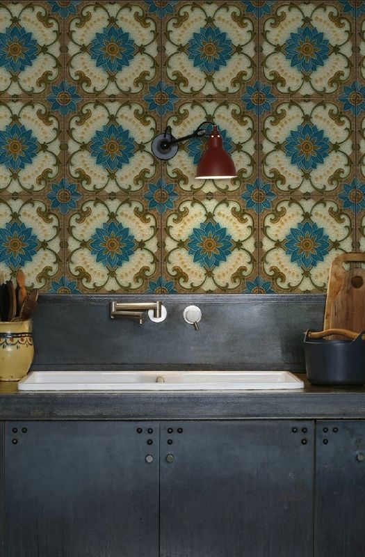 MAJOLICA 1434 tiles Pinterest Tapeten, Wandgestaltung und Wände
