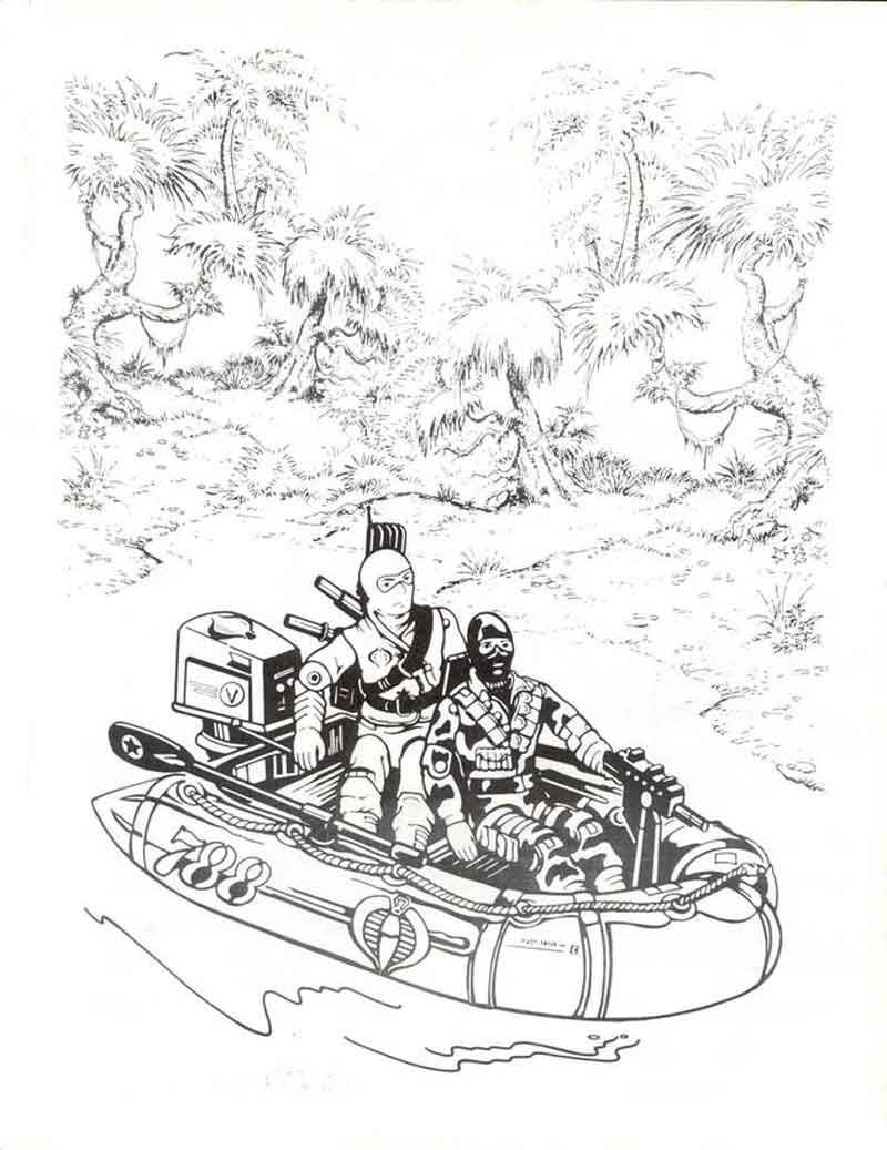 Free Printable Gi Joe Coloring Pages Di 2020