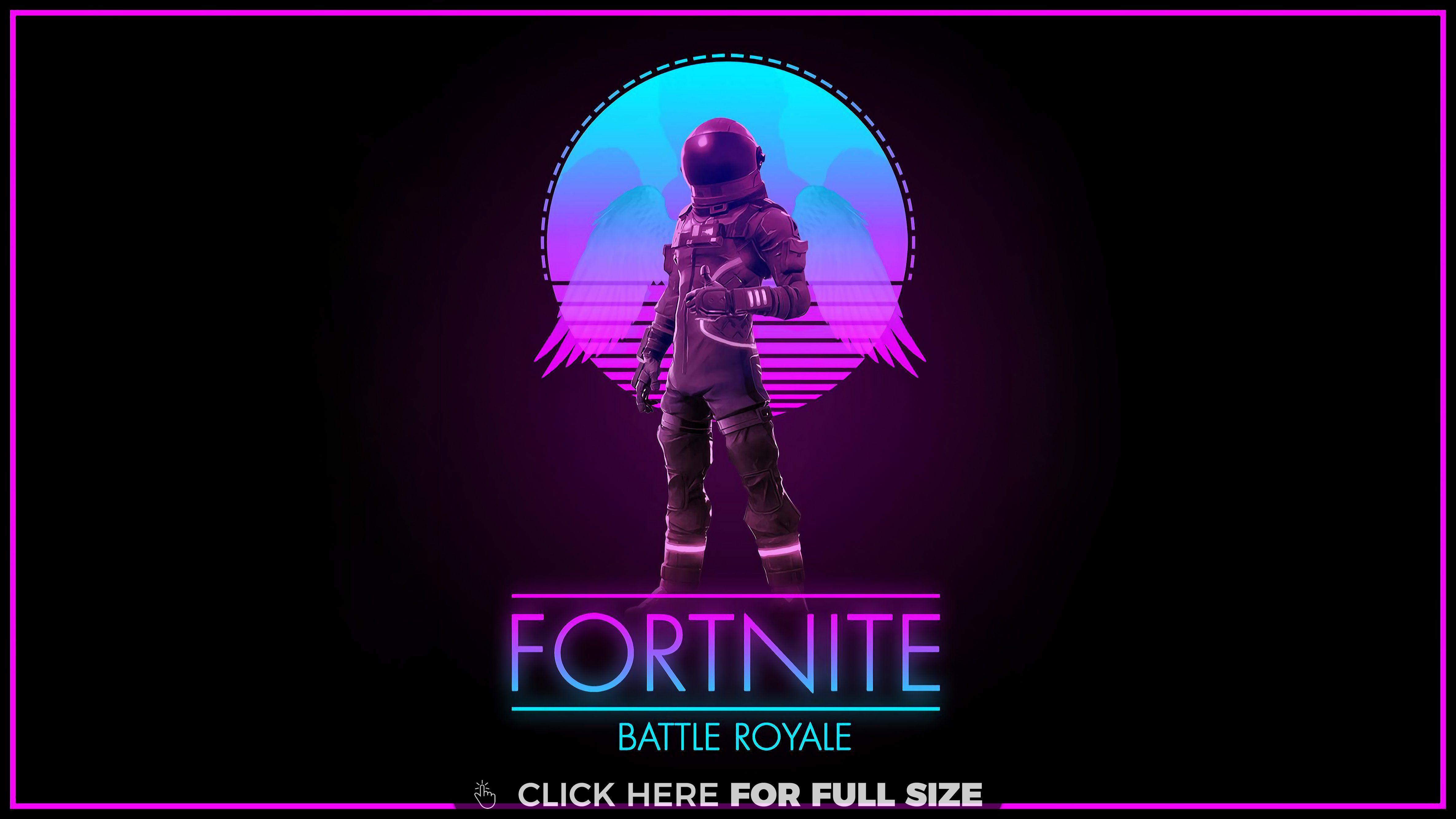 Fortnite Synthwave Royale Desktop Wallpapers Pinterest