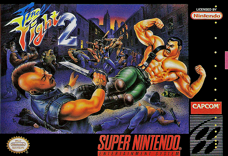 Final Fight 2 Super Nintendo Retro Video Games Nintendo