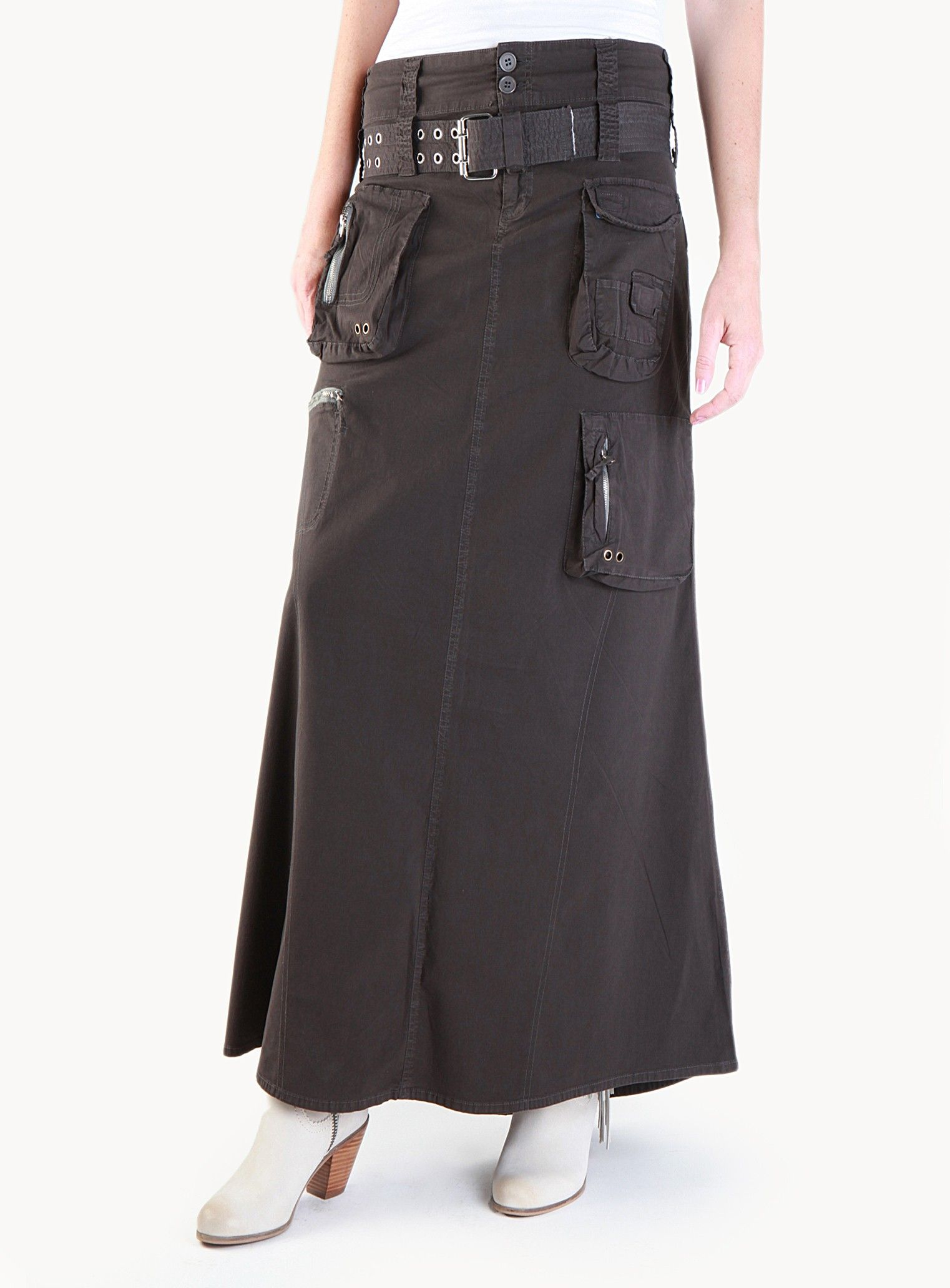 f77644acec Long Cargo Skirt - New Arrivals - Clothing | Latest and Greatest in ...