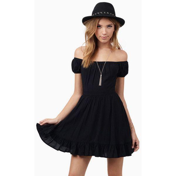 8d9a1c2afe Tobi Camillia Skater Dress ( 48) ❤ liked on Polyvore featuring dresses