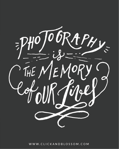 Photography Quote Photography Quote  Photography Is The Memory Of Our Lives