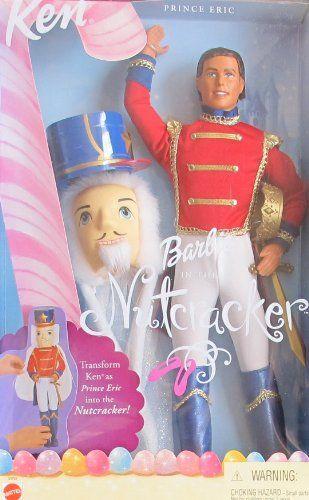 BARBIE in The Nutcracker KEN as PRINCE ERIC DOLL w MASK, Hat & More (2001) Barbie http://www.amazon.com/dp/B00AXAIYUA/ref=cm_sw_r_pi_dp_qIp8vb1DS1K4A