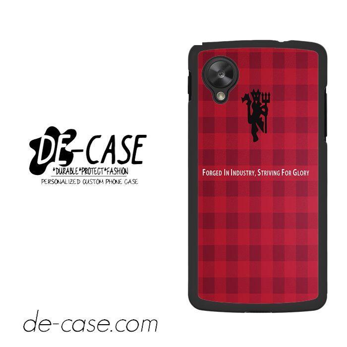 Manchester United Devil Quotes For Google Nexus 5 Case Phone Case Gift Present YO