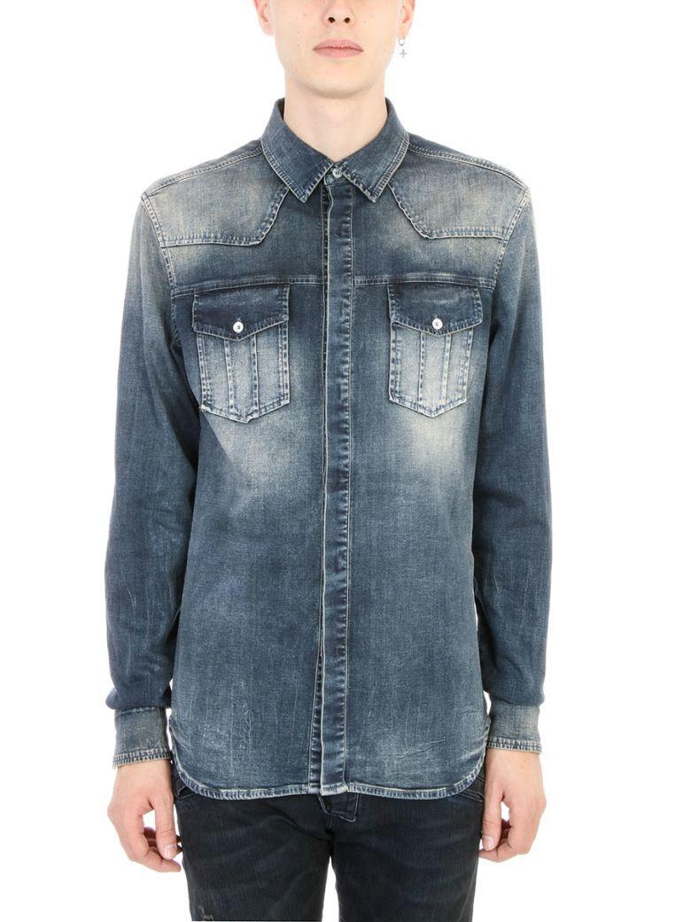 44d5f884d6 PIERRE BALMAIN Pierre Balmain Blue Denim Shirt.  pierrebalmain  cloth