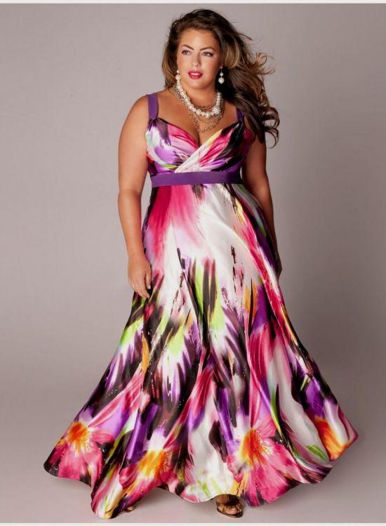 4933ff6b7 plus size maxi dresses with 3 4 sleeves 2016-2017 » B2B Fashion