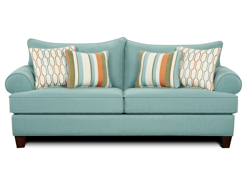 Stallion Turquoise Sleeper by Fusion Furniture. Browse a wide selection of modern couches for sale on SamHomeDecor
