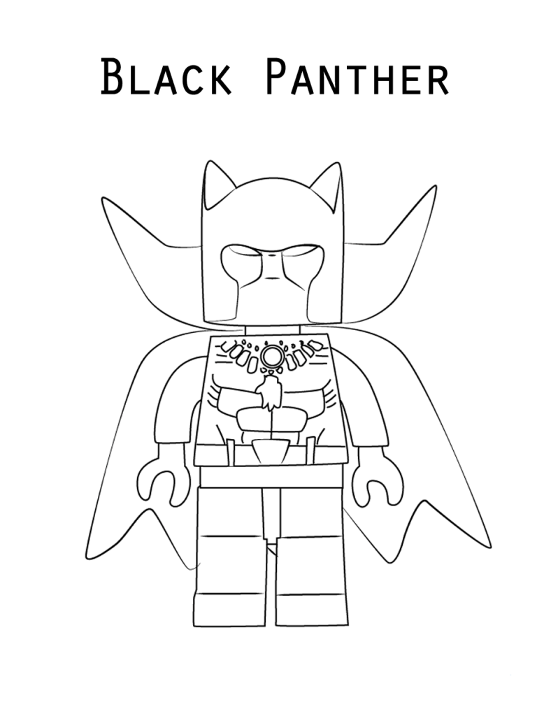 Black Panther Coloring Pages Best Coloring Pages For Kids Lego Coloring Pages Superhero Coloring Pages Avengers Coloring Pages