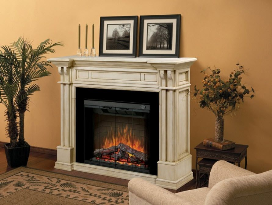 One of the greatest benefits of electric fireplaces is its simplicity. No logs to replace