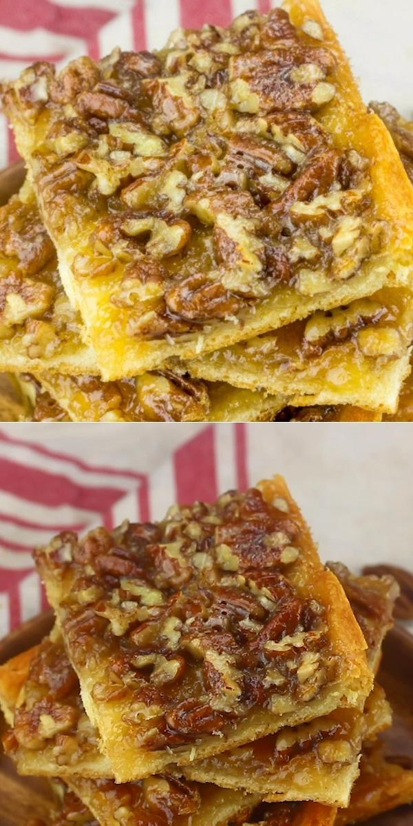 Easy Pecan Pie Bars