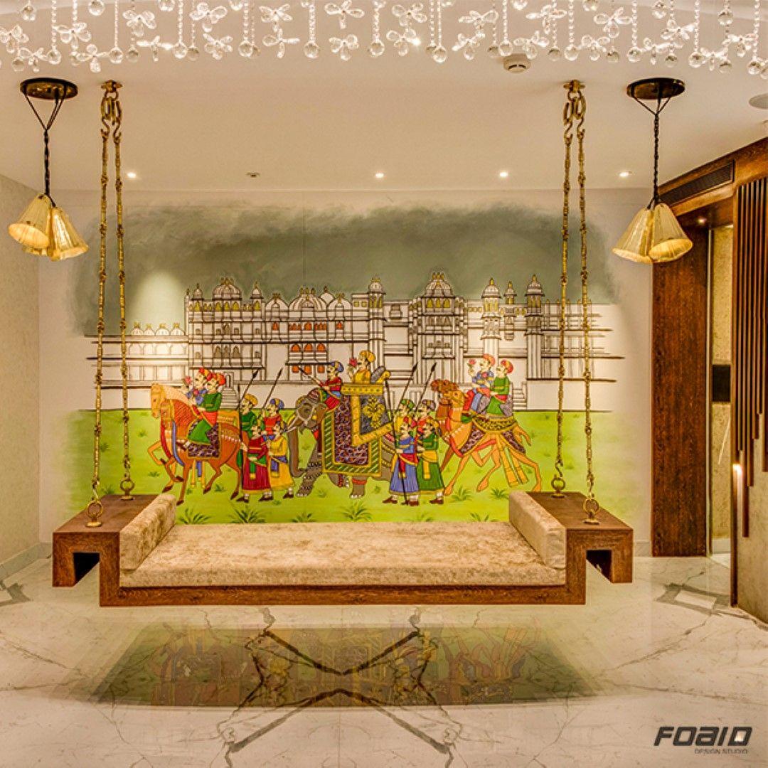 "Interior Design Home India: Jalpaan Restaurant Interiors Is Adaption Of ""Indian Modern"