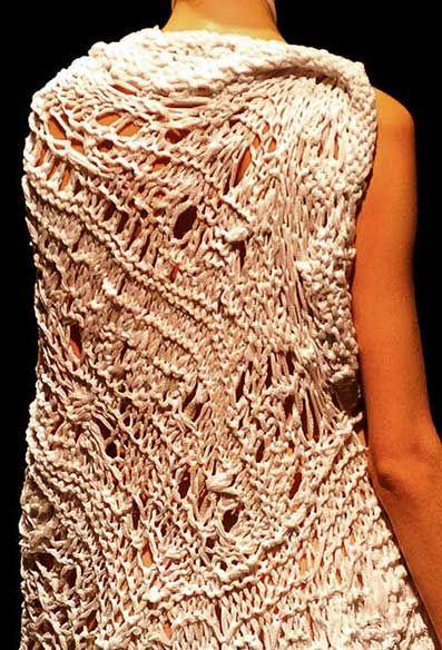 knitwear designer Johan Ku....from mikapoka: boundary-breaking knits