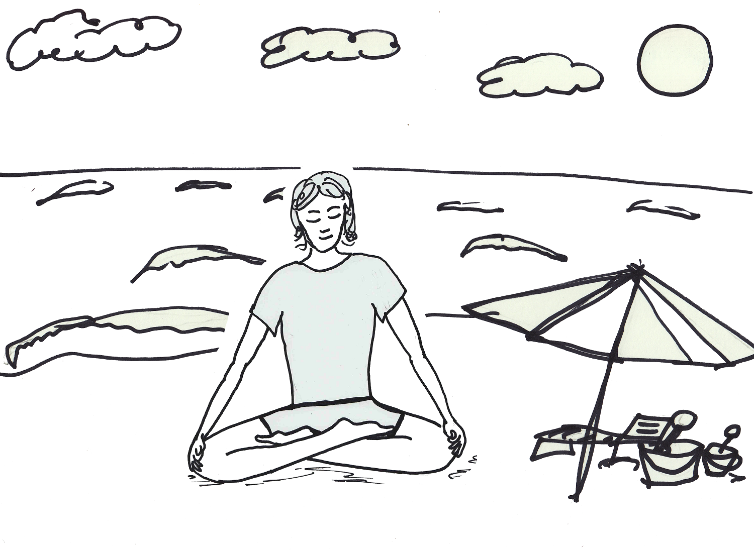 Yoga Coloring Pages For Kid Sport Introduction | Dear Joya | Kids ...