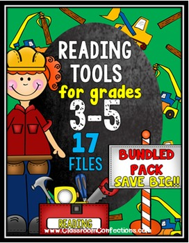 Reading Comprehension and More BUNDLE for UPPER ELEMENTARY