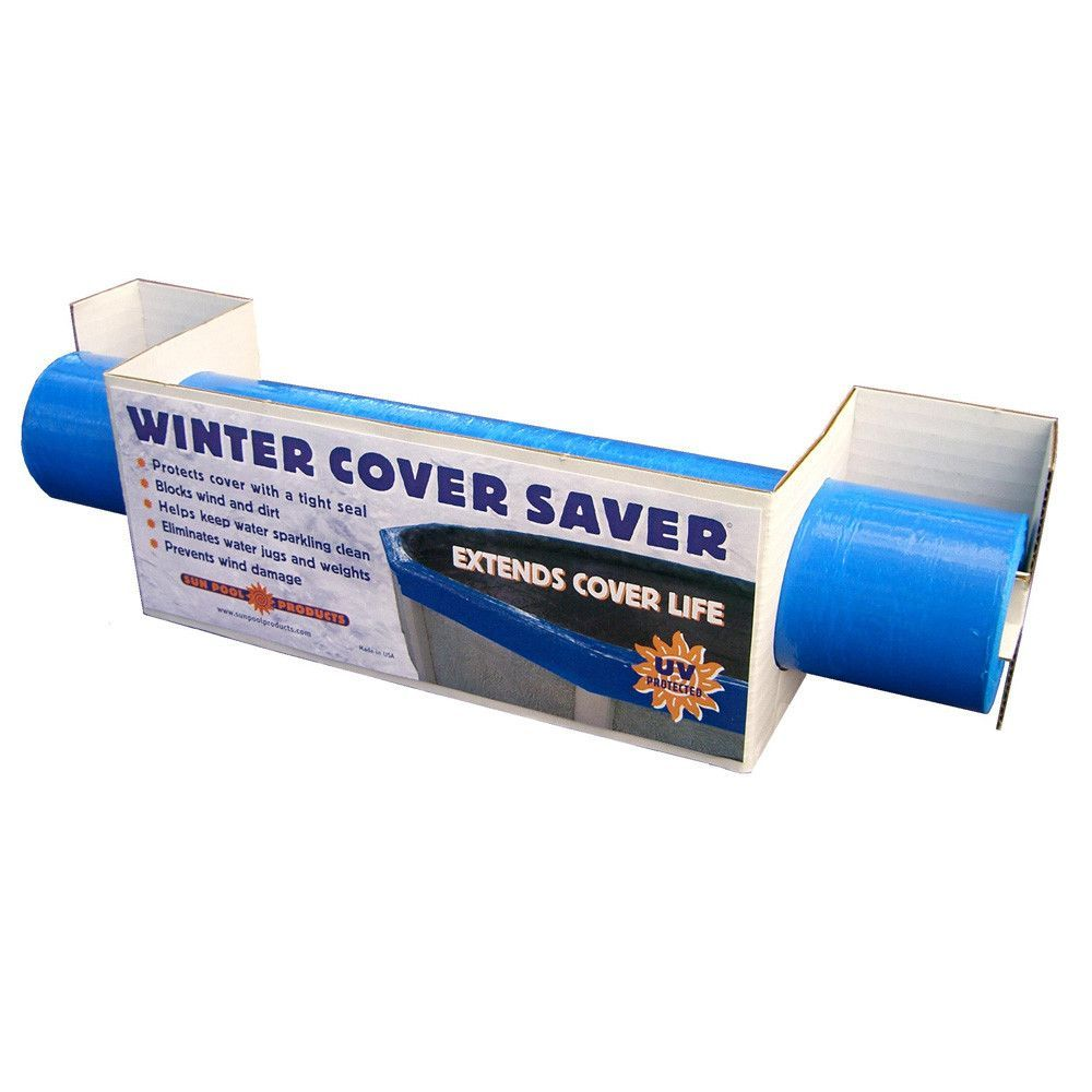 Winter cover saver above ground pool cover seal back - Above ground swimming pool covers ...