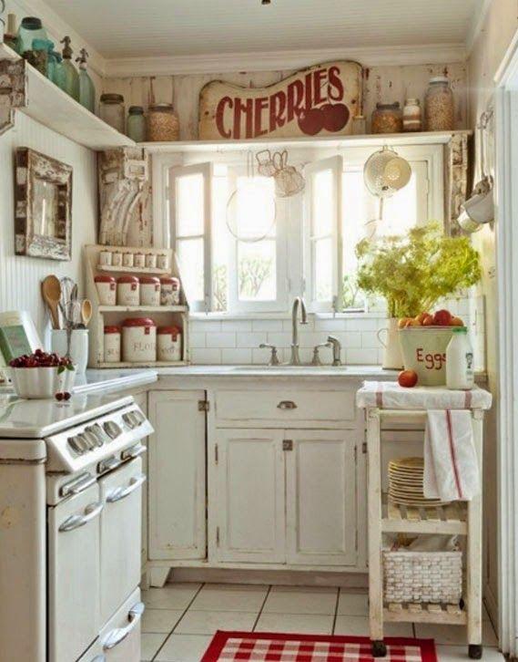 4 tips para decorar cocinas pequeñas | Decorar cocinas pequeñas ...