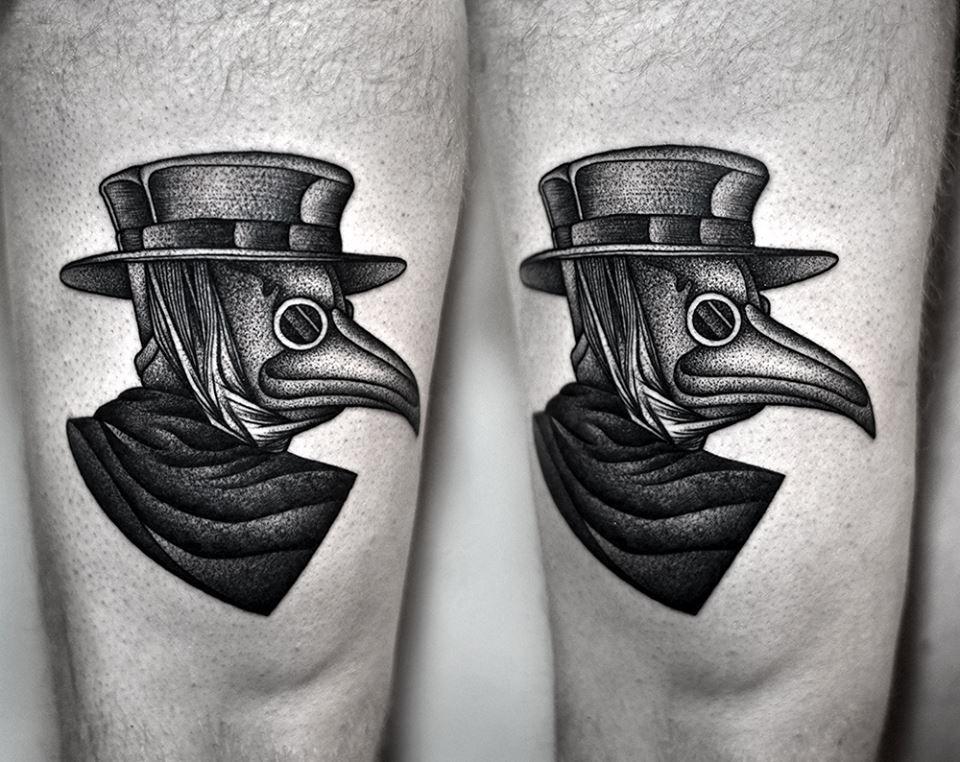 Artist Kamil Czapiga Tattoos Tattoos 2014 Black Ink Tattoos