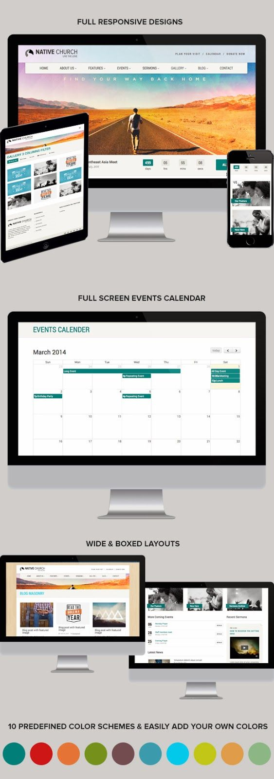Best Church Calendar Templates Pictures Inspiration - Professional ...