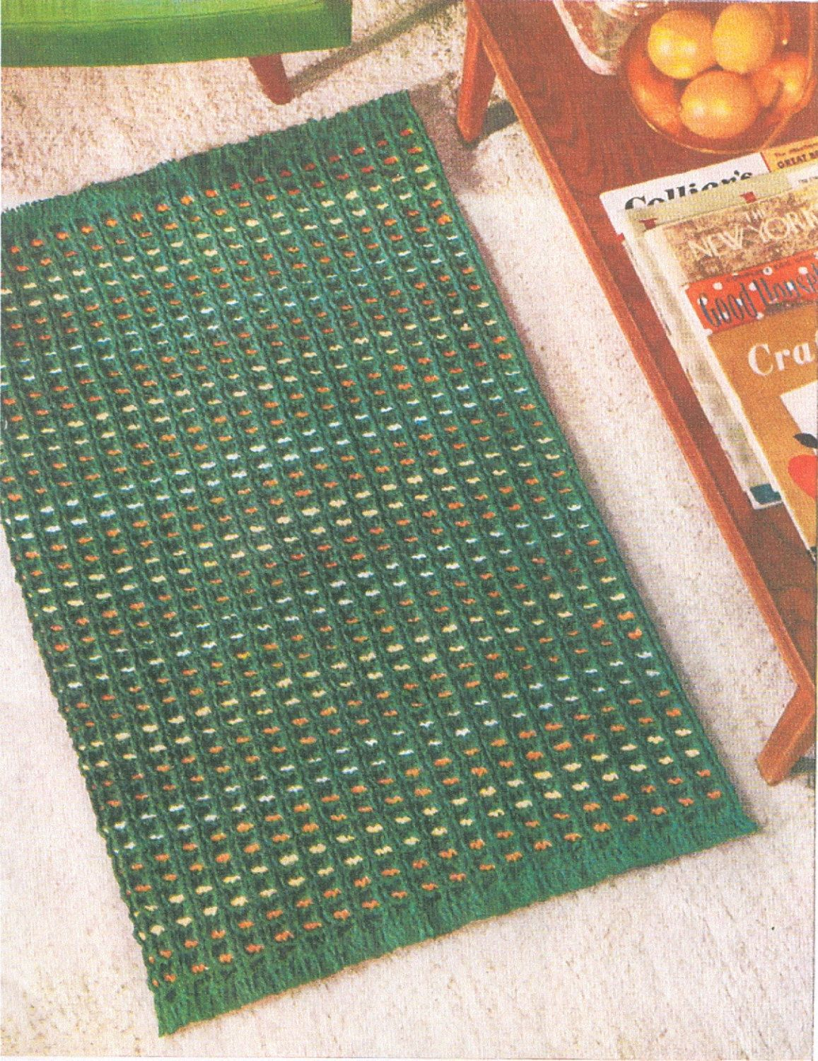 Rugs Mats Crochet Pattern Book 15 Rugs To Make PDF by dianeh5091