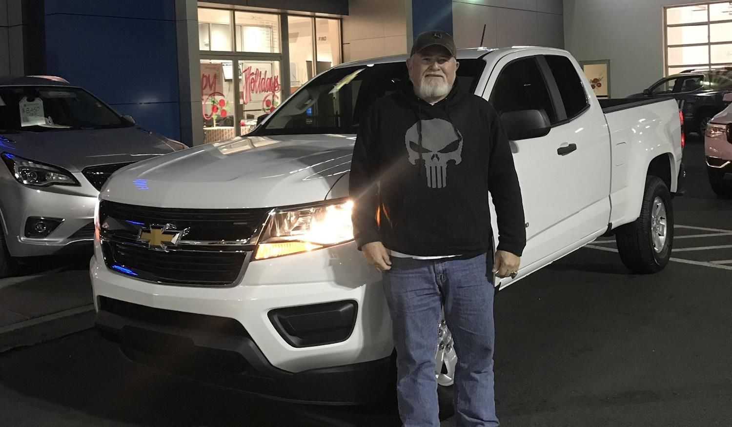 Russell And Joyce We Hope You Enjoy Your New 2019 Chevrolet Colorado Congratulations And Best W Buick Gmc Chevrolet Colorado Congratulations And Best Wishes