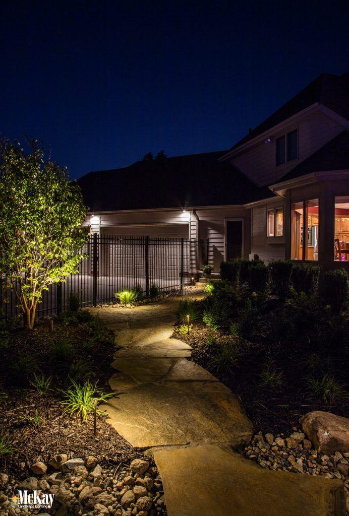 Lighting Stores Omaha >> Landscape Lighting Spotlight Resort Style Outdoor Space