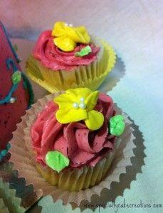 #Spring Flower Cupcakes