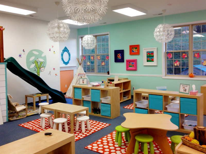 Modern Classroom Games ~ Picture of preschool classroom furniture setting ideas