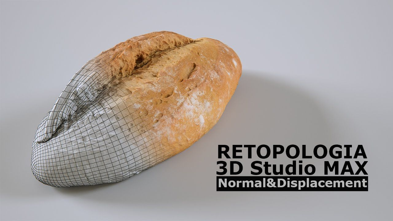 Retopologia modelos alta resolución poligonal - Fotogrametria - 3D Studi...