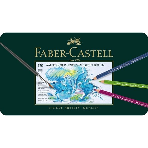Faber Castell Albrecht Durer Artists Watercolour Pencils Tin 12