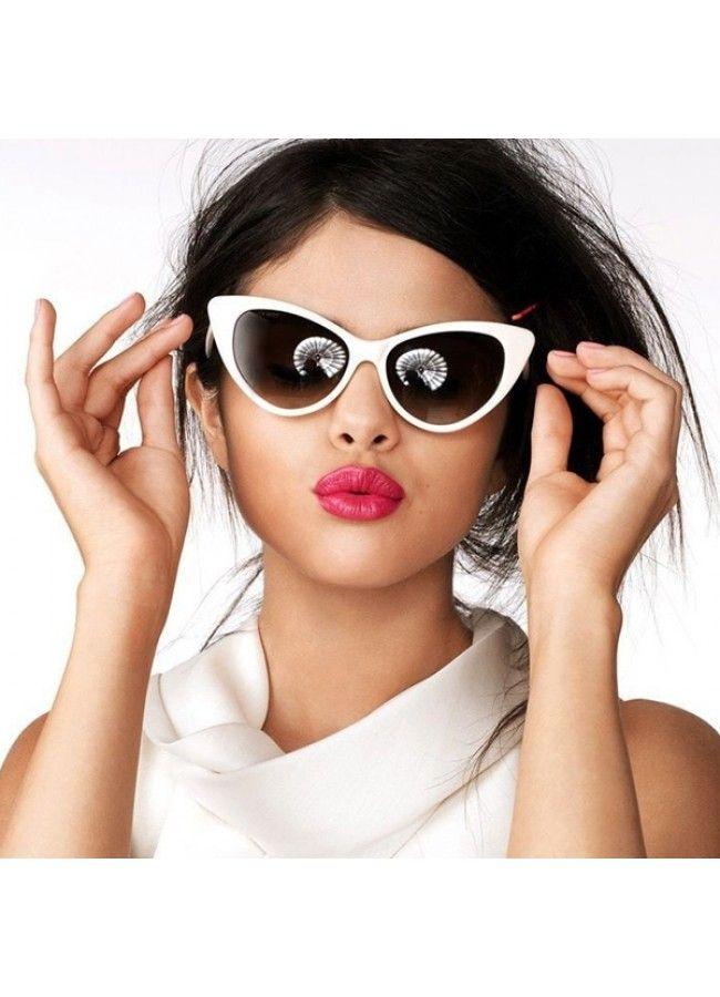 b785f1f3e341 Selena Gomez Style Cat Eye Sunglasses - Celebrity Sunglasses - Collections  | BleuDame.com