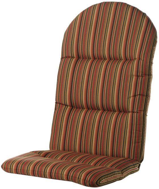Delightful Home Decorators Collection Sunbrella Dorsett Cherry Outdoor Adirondack  Chair Cushion Amazing Pictures