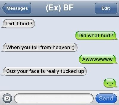 You Must Really Hate Your EX