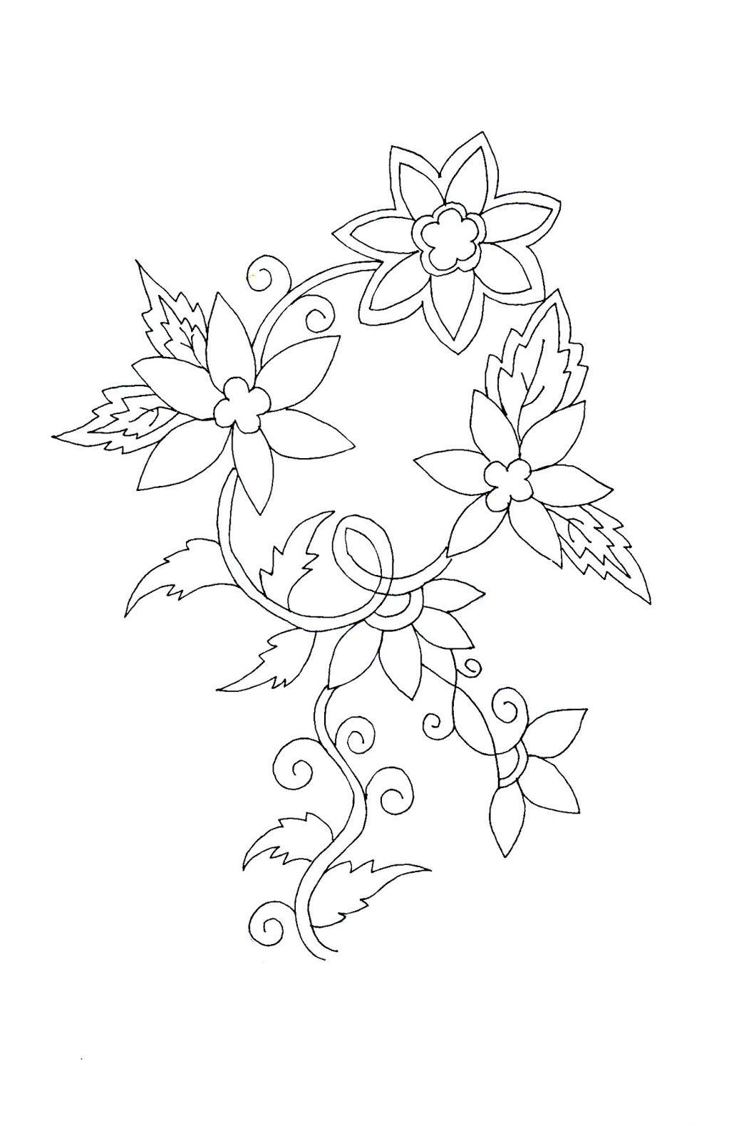 Legújabb vázlatok Sárika Agrawal - Emb (With images) | Simple flower design, Simple flower ...