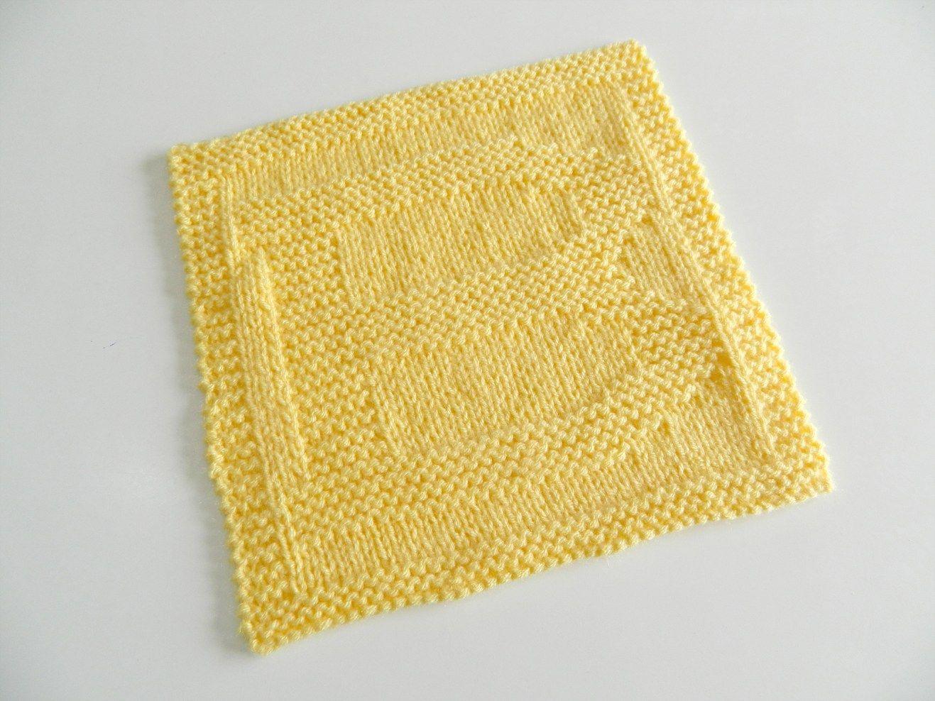 B dishcloth pattern alphabet dishcloth knitting pattern ...