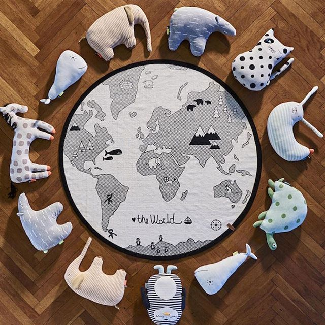 World map rug kids rugs childrens rugs oyoy scandi rug world map rug kids rugs childrens rugs oyoy scandi rug playmat gumiabroncs Images