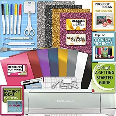 Amazon.com: Cricut Explore Air 2 Machine Bundle Iron On Vinyl Pack Tools Pen Design Beginner Guide #cricutexploreair2projects Amazon.com: Cricut Explore Air 2 Machine Bundle Iron On Vinyl Pack Tools Pen Design Beginner Guide #cricutexploreair2projects