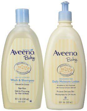 Aveeno Baby Wash And Lotion Aveeno Baby Baby Wash