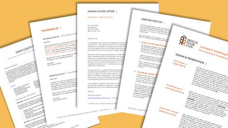 job search marketing resource kit diy marketing guides templates brooklyn resume studio - Brooklyn Resume Studio