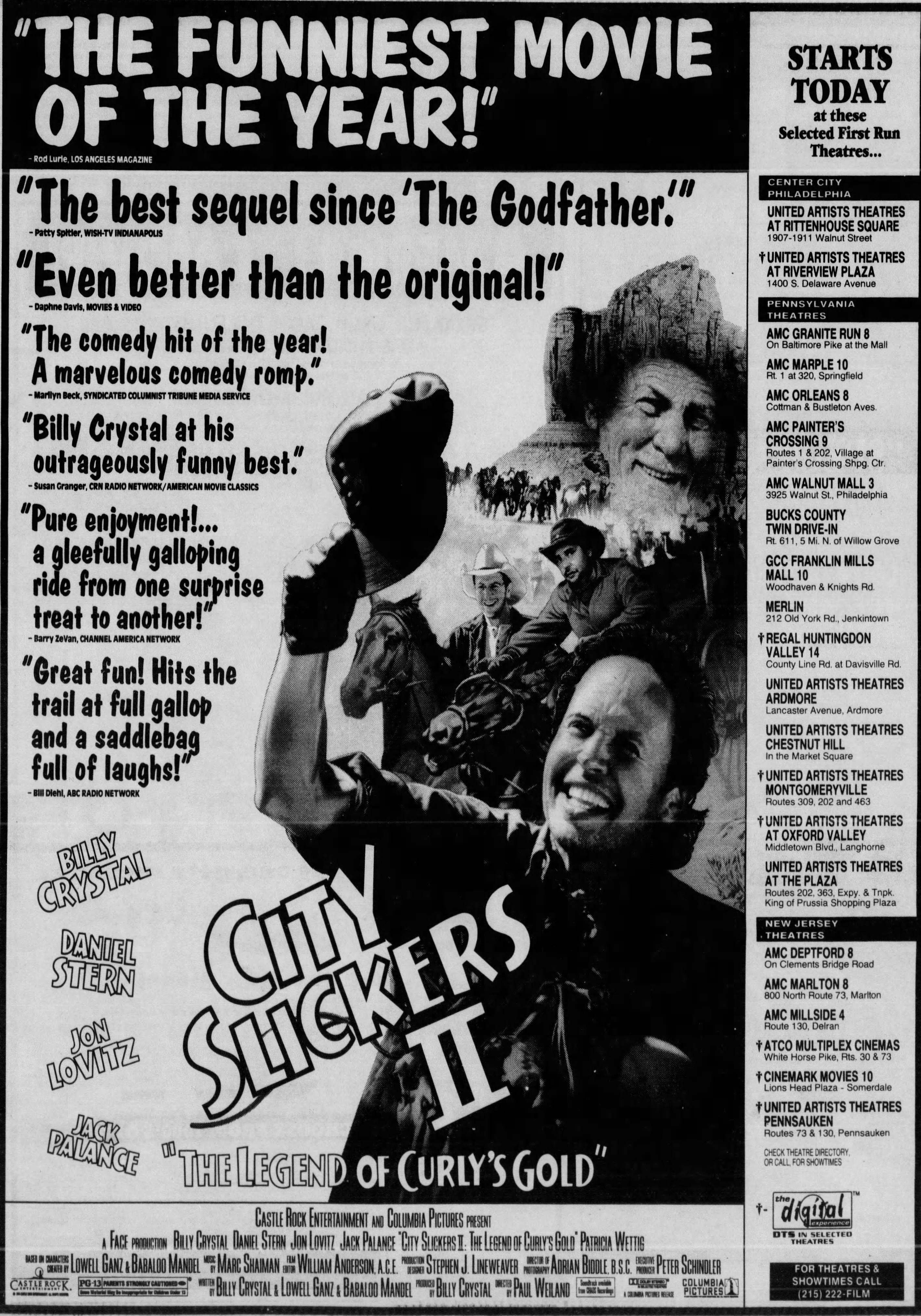 City Slickers II The Legend of Curly's Gold (1994) in