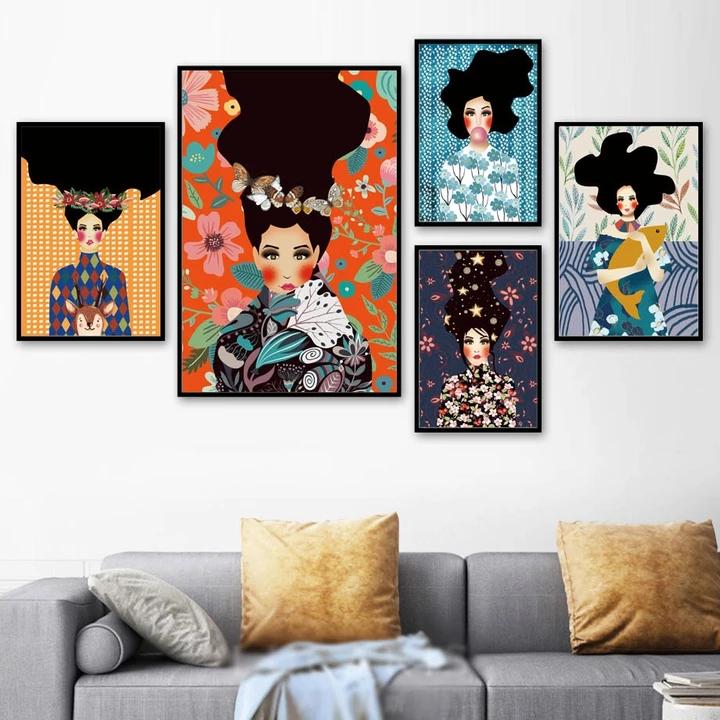 Girl Art Canvas Canvas Art Art Girl Art