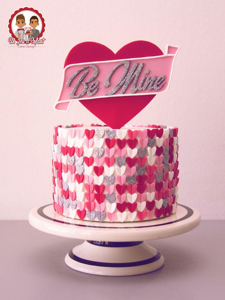 Be Mine Valentine S Day Cake Valentines Day Cakes Savoury Cake